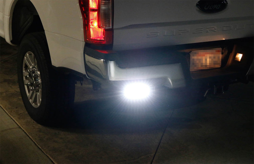 11 Up Ford F250 F350 F450 Rear Bumper Reverse Led Light