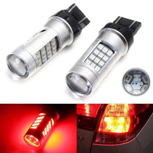 High Power 42-SMD-5730 360-Degree Shine 3157 3357 3457 4157 4357 or 7443 7444 LED Bulbs For Tail/Brake Lights-iJDMTOY