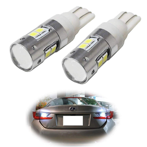 Xenon White 2835-SMD 906 912 920 921 W16W LED Bulbs For Car Backup Reverse Lights Replacement-iJDMTOY