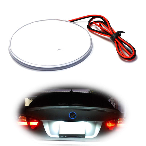 (1) Blue Red or White LED Illuminated Emblem Background Lighting Kit For BMW Front Hood or Rear Trunk 3.25-Inch 82mm Roundel Emblem-iJDMTOY