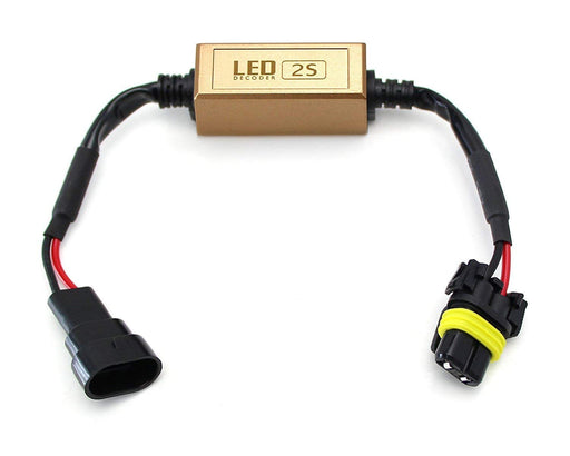 9006 HB4 LED Headlight Anti Flicker Resistor Canceller Decoders (Plug-In-Play)-iJDMTOY