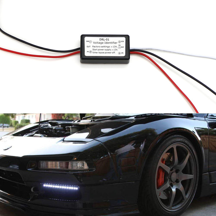 LED Daytime Running Light Automatic On/Off Switch Controller Module Box (Enable DRL Turn On When Engine Starts)-iJDMTOY