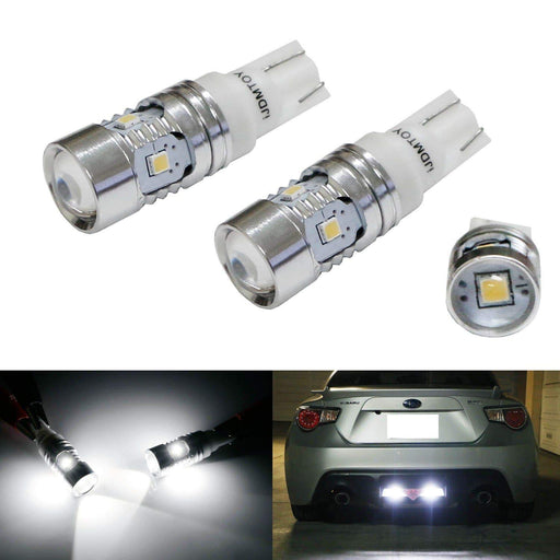Super Bright 2835-Chipset 168 2825 912 920 921 LED Bulbs For Backup Reverse Lights or Parking Position Lights, Xenon White-iJDMTOY