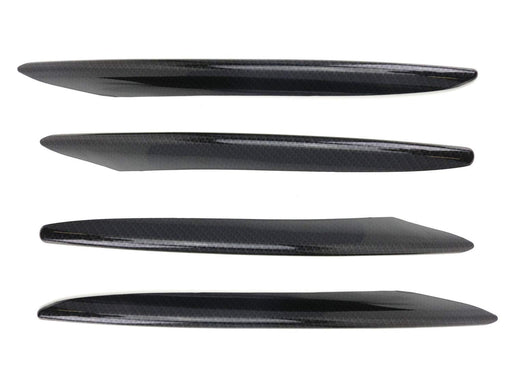 Carbon Fiber Pattern Lower Bumper Decoration Trims For 2017-up Mercedes W213 E-Class Sedan E250 E300 E400 E63 AMG, etc-iJDMTOY