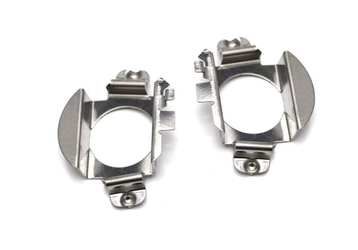 H7 LED Headlight Bulbs Adapters Holders Retainers For Mercedes-Benz C ML CLK GLA GL GLS Class etc (Low Beam)-iJDMTOY