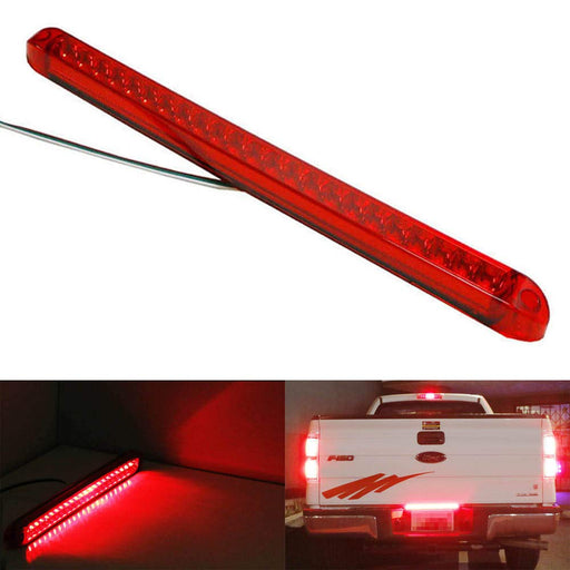 "17"" Trunk Tailgate Red LED Tail/Brake Light Bar For Ford GMC Chevy Dodge Toyota Nissan Honda Truck-iJDMTOY"