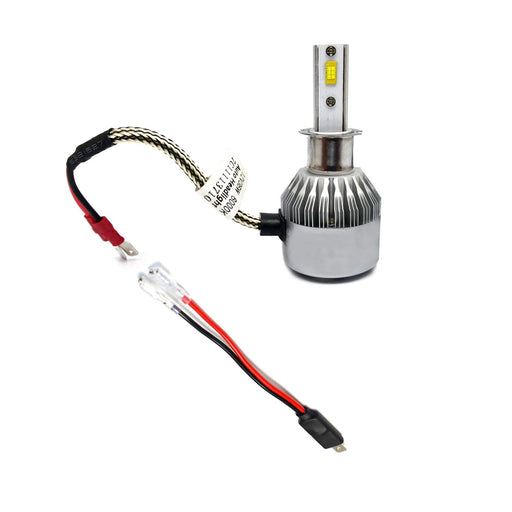OEM H1 Socket/Adapter Wires For HID or LED Headlight Bulbs Installation Conversion-iJDMTOY