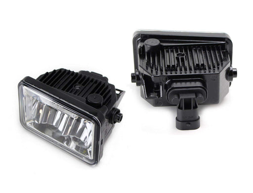 (2) High Power Osram LED Fog Light Replacement For 2015-up Ford F-150, 2017-up Ford F-250 F-350 (Replace OEM# FL3Z-15201-B FL3Z-15200-B)-iJDMTOY