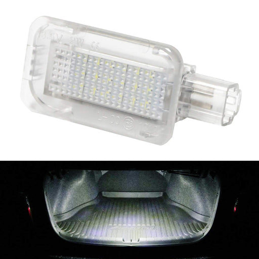 Super Bright 2W High Power Xenon White Full LED Trunk Cargo Area Light Assembly For Honda Acura, Powered by 18-SMD LED Diodes-iJDMTOY