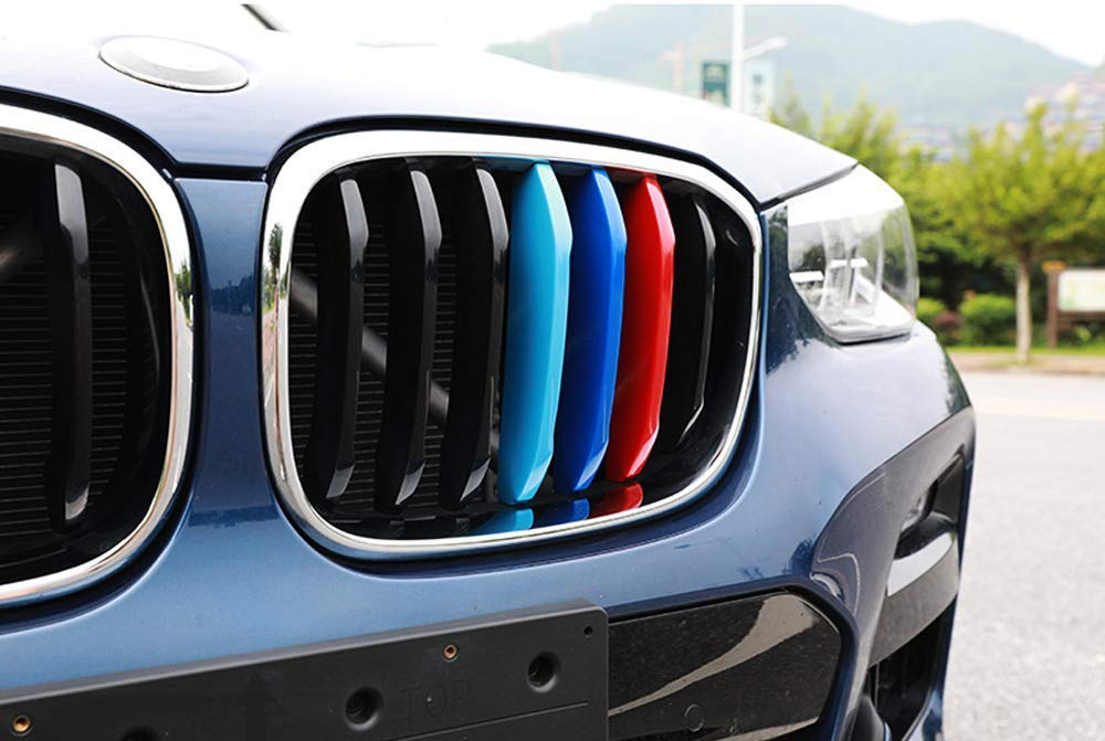 MotorFansClub Front Kidney Grille Fit for Compatible with BMW X5 G05 2019 2020 Double Slats
