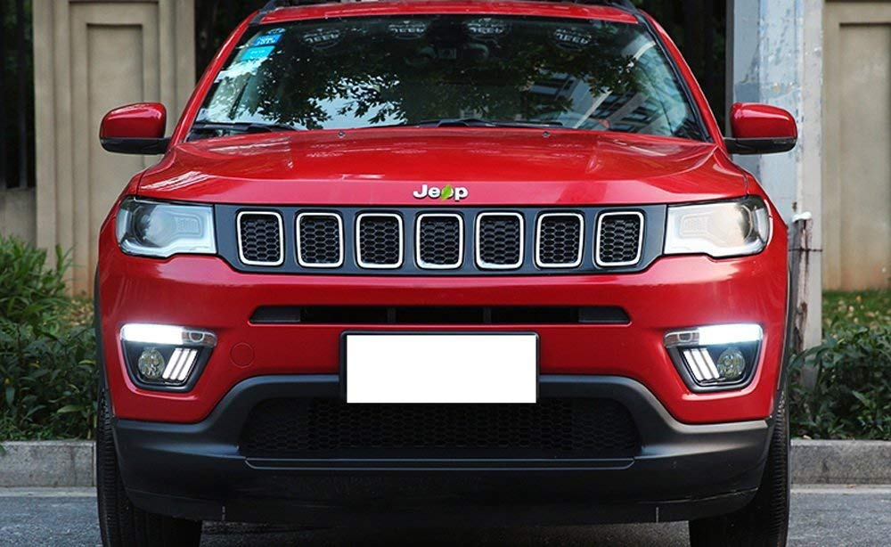 17 Up Jeep Compass Switchback Led Daytime Running Light