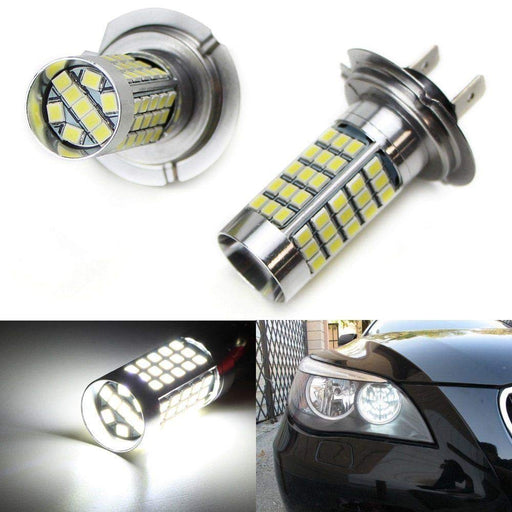 360-Degree Shine 69-SMD-1210 H7 H11 9005 9006 5202 P13W LED Bulbs For Fog Lights or High Beam Daytime Running Lights-iJDMTOY