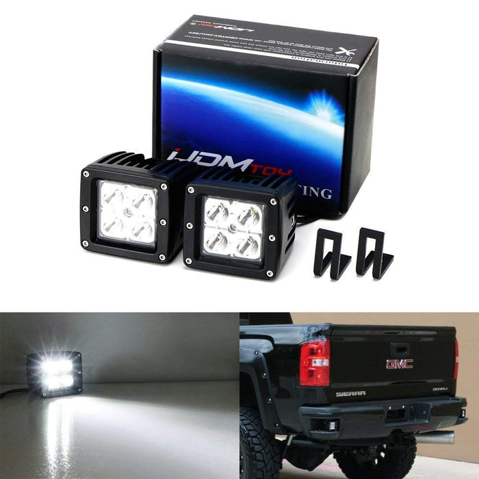 Chevy Silverado Gmc Sierra Rear Bumper Mount Led Pod Light
