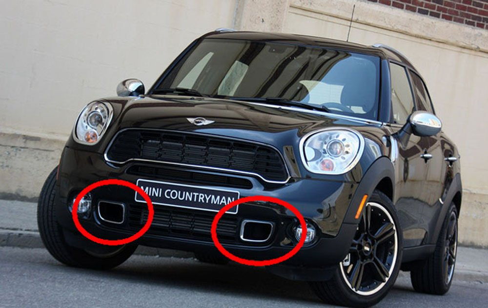 10 16 Mini Cooper R60 Countryman Switchback Led Drl Assy Kit