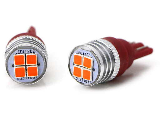 Brilliant Red 4-SMD High Power LED Replacement Bulbs For Chevrolet Dodge Ford GMC Nissan RAM Toyota Truck High Mount 3rd Brake Lamp-iJDMTOY