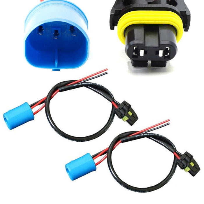 9004/9007 Wire Harness for Xenon to Stock Socket — iJDMTOY.com on