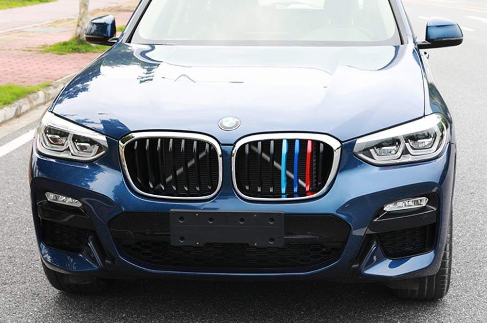 Exact Fit M Colored Grille Insert Decoration Trims For 2019 Up Bmw G05 X5 W 7 Beam Kidney Grill