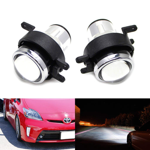(2) OEM Replace Projector Fog Light Housings For Lexus IS GS CT LX RX Scion tC xB Toyota Camry Venza Prius Sienna etc., HID or LED Ready (Bulbs Not Included)-iJDMTOY