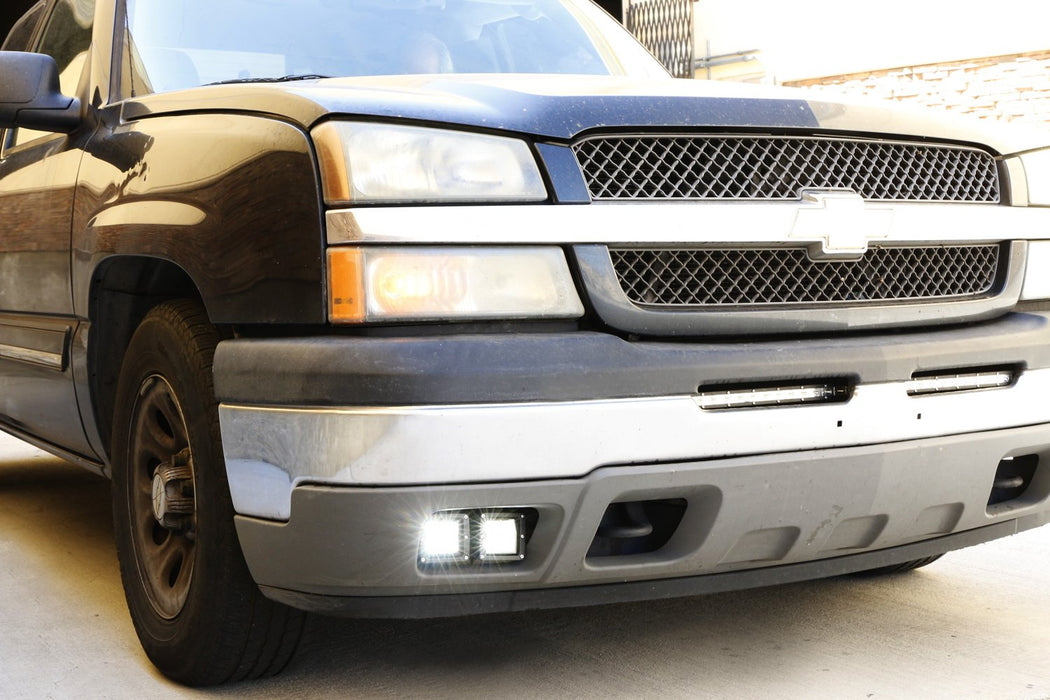 About Chevy 0306 Silverado Avalanche Clear Fog Driving Lightsswitch