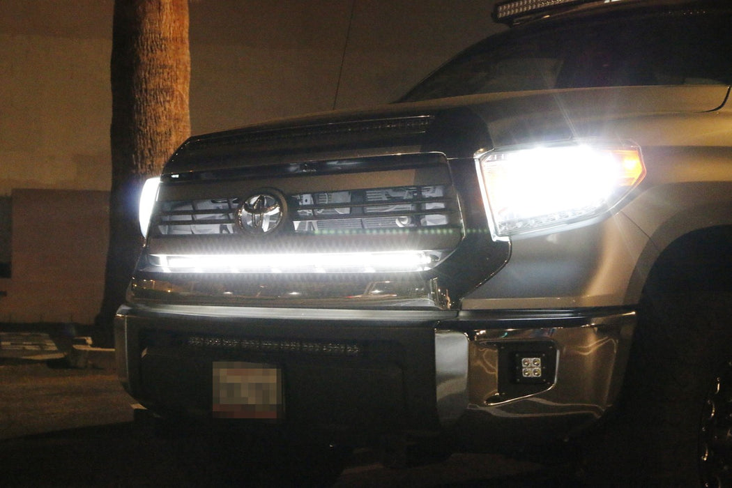 2014 up toyota tundra behind the grill 45 u0026quot  led light bar