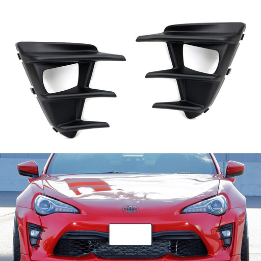A Pair LH RH OEM-Spec Fog Lamp Bezel Covers ONLY For 2017-up Toyota 86-iJDMTOY