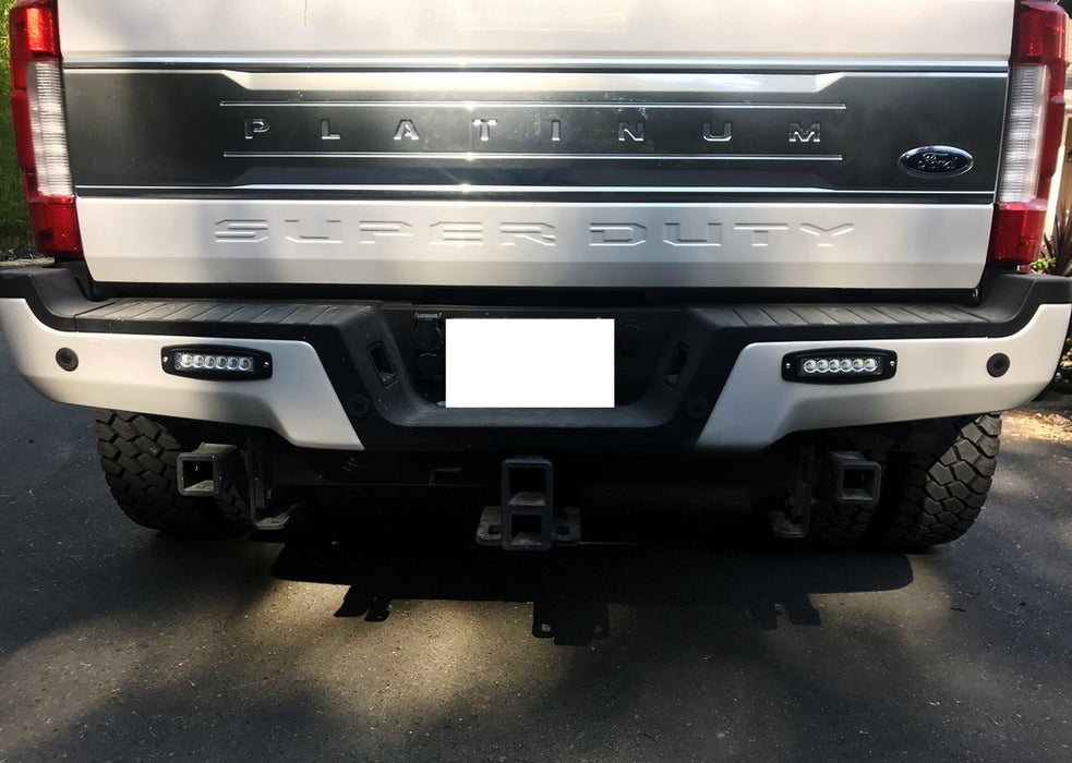 2 6 Inch 18w Flush Mount Low Profile Led Light Bars For Truck Suv Jeep Front Driving Lights Or Back Reverse Lights