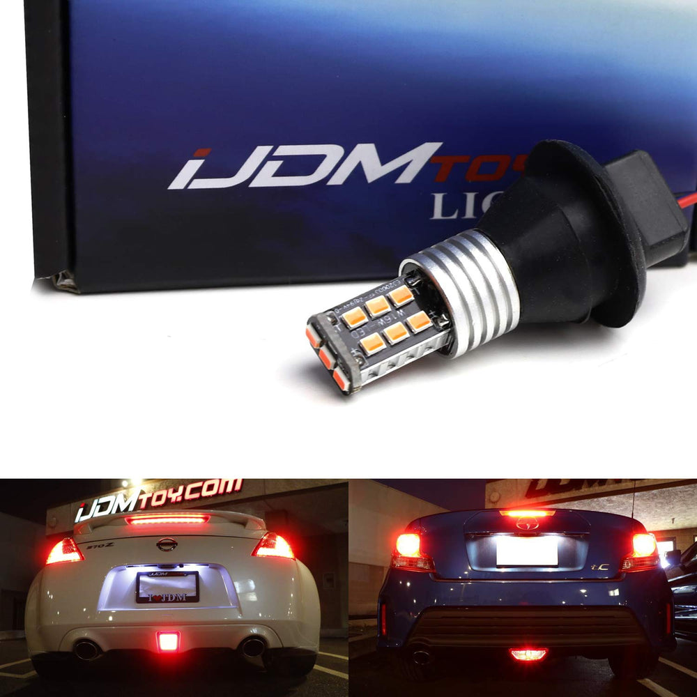 Super Red Strobe Flash Rear Fog Light Conversion Kit For Scion FR-S tC Toyota 86 Subaru BRZ Nissan 370Z Juke & More-iJDMTOY