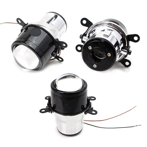 (2) OEM Replace Projector Fog Light Housings For Acura Honda Ford Nissan Infiniti Subaru etc., HID or LED Ready (Bulbs Not Included)-iJDMTOY