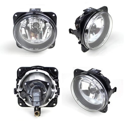 Complete Set Fog Lights Foglamps with H10 9145 Halogen Bulbs For Ford Escape/Mustang Cobra/Focus SVT or Lincoln LS-iJDMTOY