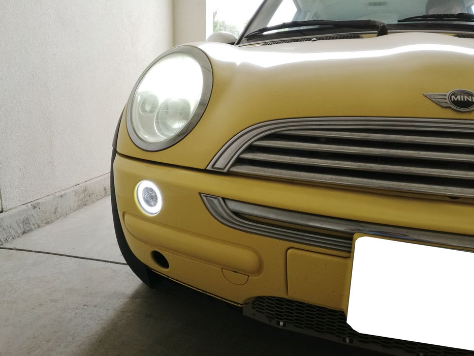OEM Fit White Daytime Running Lights /& Amber Turn Signal Lamps iJDMTOY Clear Lens White LED DRL Parking Light//Turn Signal Assy For 02-06 MINI Cooper R50 R53 Hatchback /& 05-08 R52 Convertible