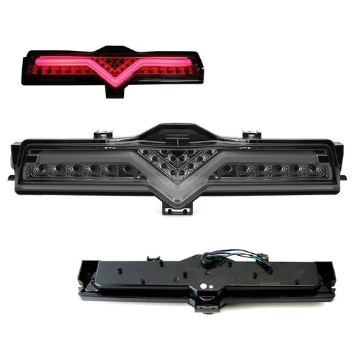 Smoked Lens All-In-One LED Rear Fog Light Kit (Tail/Brake, Backup Reverse Functions) For 2013-2016 Scion FR-S, 2013-2019 Subaru BRZ, 2017-up Toyota 86-iJDMTOY