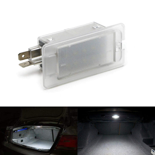 Xenon White LED Trunk/Glove Box Light For Hyundai Accent Elantra Genesis Coupe Sonata, Kia Optima Forte Rio K900 etc. Great as OEM Replacement (Powered by 18 Pieces of SMD LED Lights)-iJDMTOY