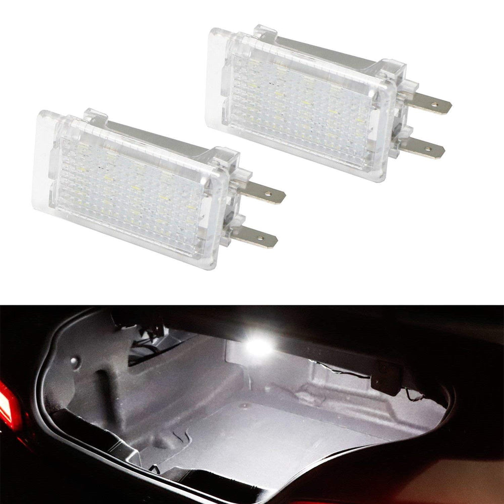 (2) Xenon White 18-SMD LED Trunk/Engine Bay Lights For Porsche 911 Carrera  Cayman Boxster, Great as OEM Replacement
