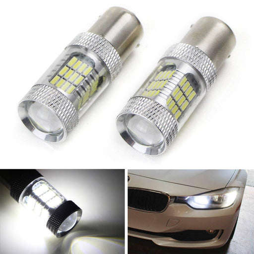 Error Free 7507 LED Bulbs Fit BMW 1 2 3 4 Series X1 X3 X4 X5 Turn Signal Lights-iJDMTOY