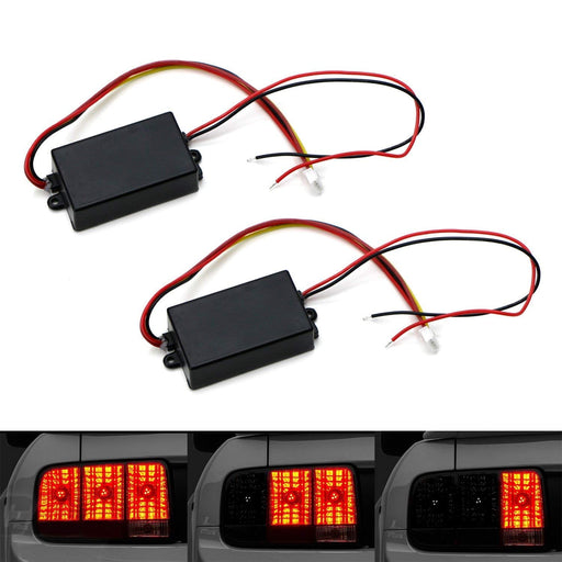 Universal 3-Step Sequential Dynamic Chase Flash Module Boxes For Car Front or Rear Turn Signal Light Retrofit Use-iJDMTOY