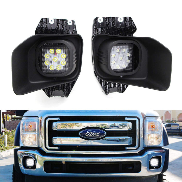11 16 Ford F250 F350 F450 Superduty Led Fog Driving Light