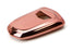 Chrome Finish TPU Key Fob Protective Cover Case For 2015-up Cadillac ATX CTS CT6 ELR XTS XT5 SRX Escalade (Please verify your actual key before buying)-iJDMTOY