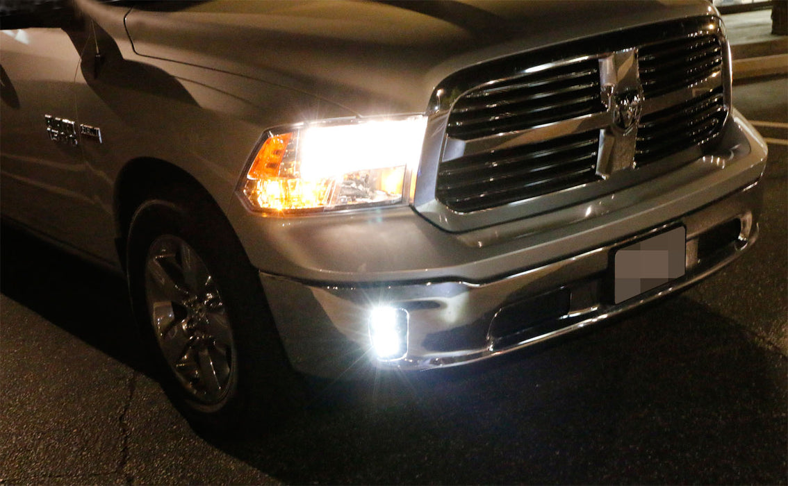 2013 18 Dodge Ram 1500 Dual 20w Cree Led Pods Fog Light