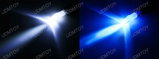 1-LED T5 (aka T4) LED Wedge Bulbs 37 73 74 79 For Gauge Cluster Dashboard Background Lights-iJDMTOY