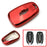 Black, Blue, Chrome, Pink and Red Finish TPU Key Fob Protective Cover Case For 2016-up Chevrolet Camaro Cruze Spark Volt, 2017-up Malibu Bolt Sonic Trax, etc-iJDMTOY