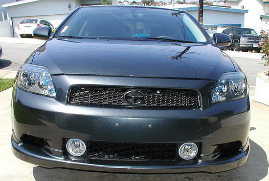 Scion tC With Grill Aftermarket Fog Lamps — iJDMTOY.com | 2007 Toyota Scion Tc Fog Lights Wiring |  | iJDMTOY.com