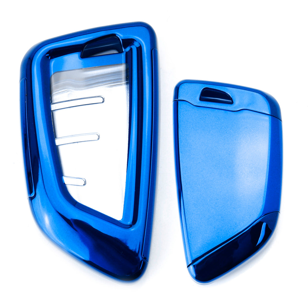 Btype-Blue Thor-Ind Shiny Glitter Moving Quicksand TPU Key Fob Case Cover for BMW New 2 5 7 Series X1 X5 X6 3//4 Buttons Keyless Entry Control Smart Key Protective Shell