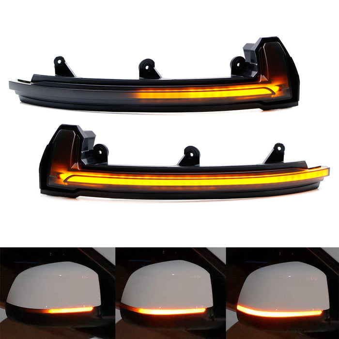 Sequential Blink Led Side Mirror Turn Signal Light Kit For
