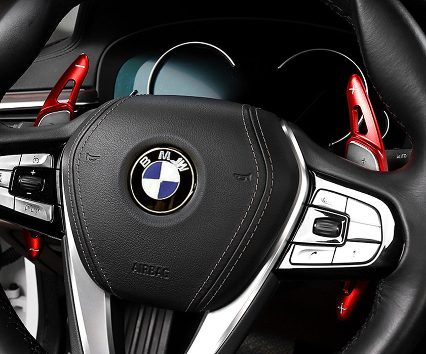 BAWAQAF Auto Steering Wheel Shift Paddle Shifter Aluminum Alloy Fit for BMW X3 X4 X5 M5 Z4 5 7 Series 2019
