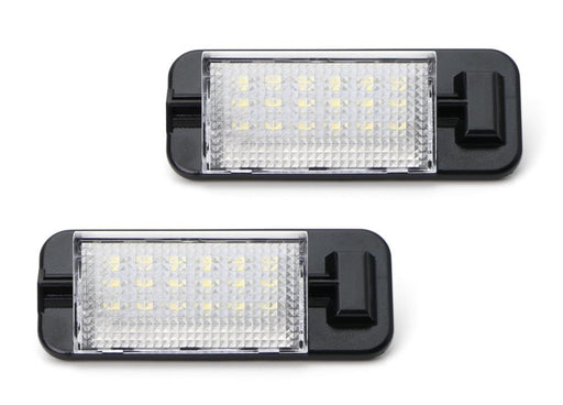 OEM-Fit 3W Full LED License Plate Light Kit For 1992-1998 BMW E36 3 Series, Powered by 18-SMD Xenon White LED & Can-bus Error Free-iJDMTOY