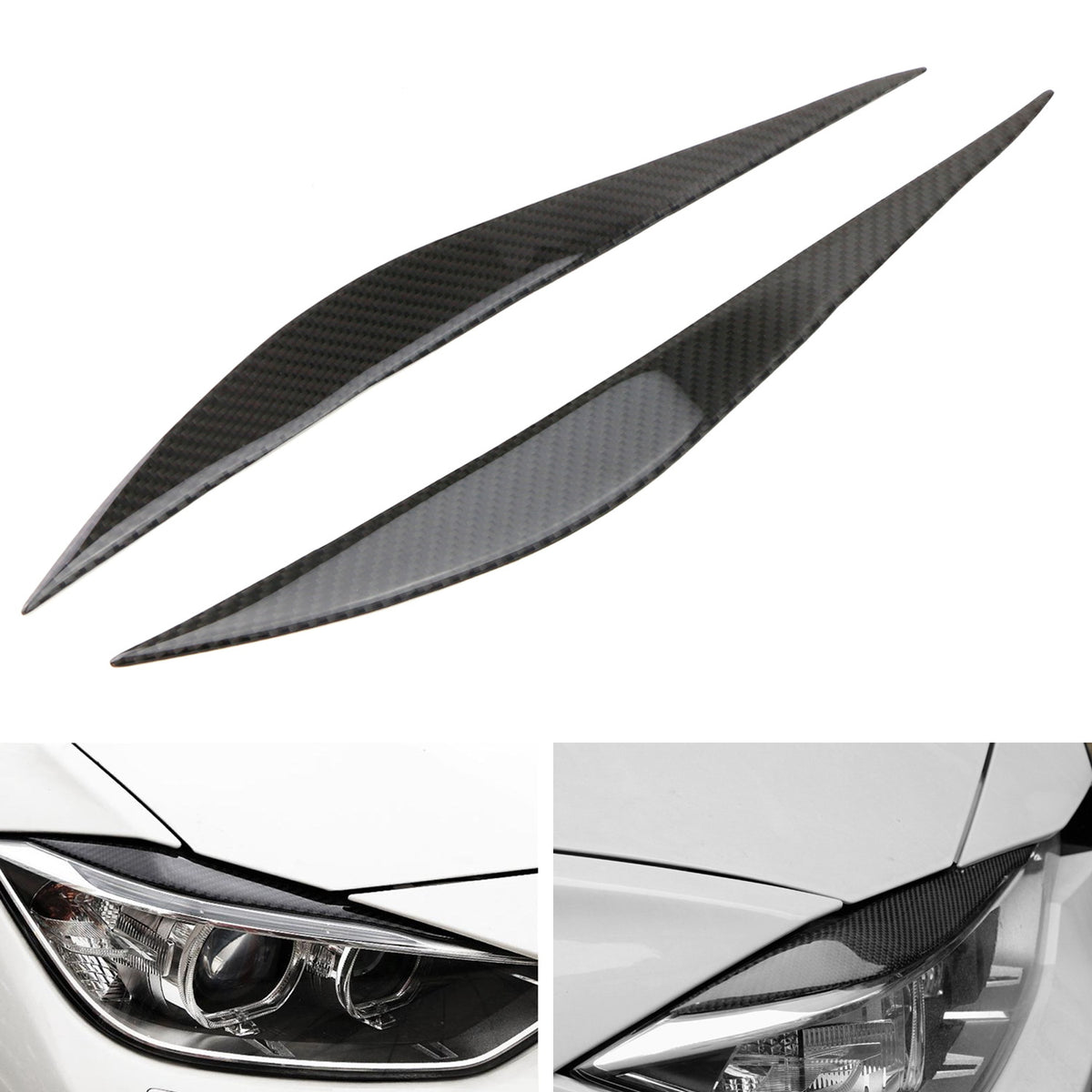 ALBBMY Auto Parts 1pcs Car Front Headlight Lens Cover Fit For BMW F30 F31 3 Series 2013-2015 Auto Lampshade Headlamp Lens Cover Color : Left