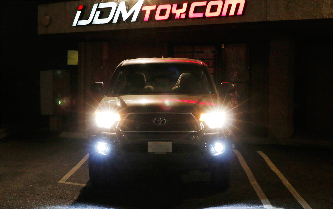 White  Yellow Dual Color 20w High Power Led Fog Light Kit