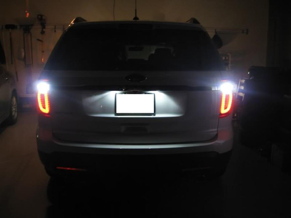 plate license ford led edge jaguar xf cmax rear lights xj smd replace transit assy assembly oem 2x max connect
