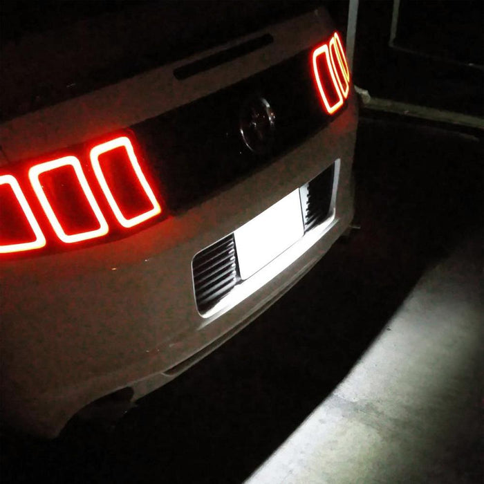 license plate led ford light mustang focus flex 2008 2009 oem lights ijdmtoy support xenon osram 3w powered piece kit