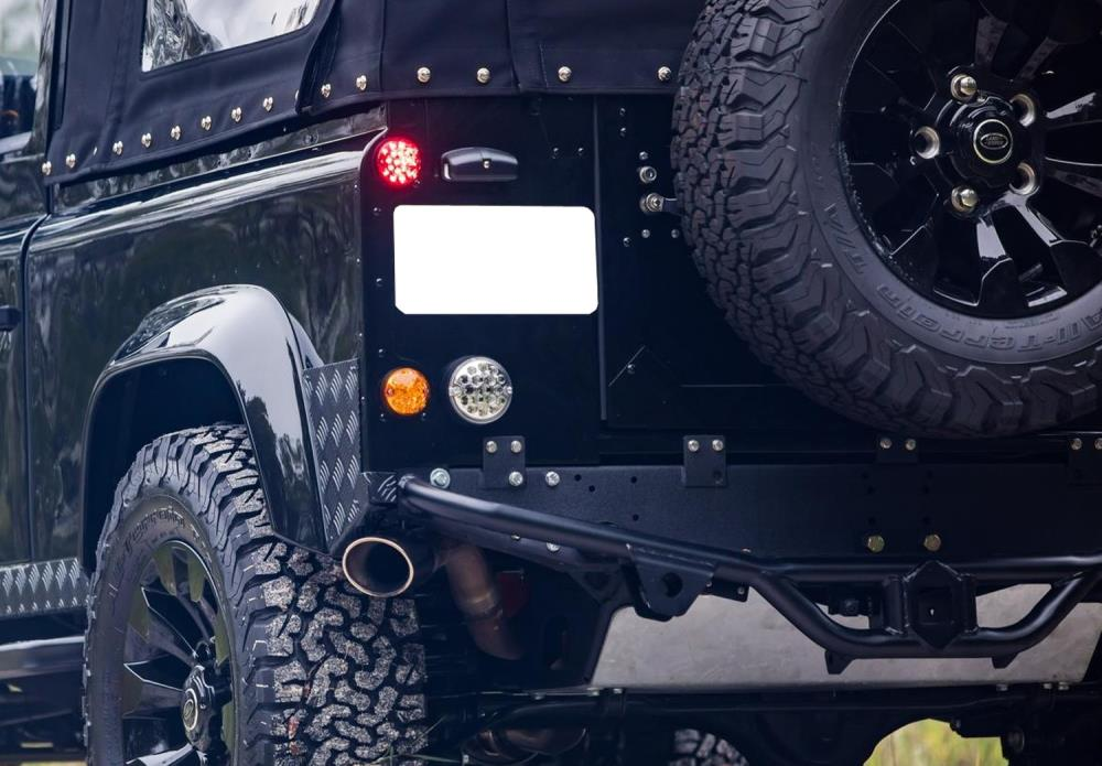 Land Rover Defender Series 2a Full Led License Plate